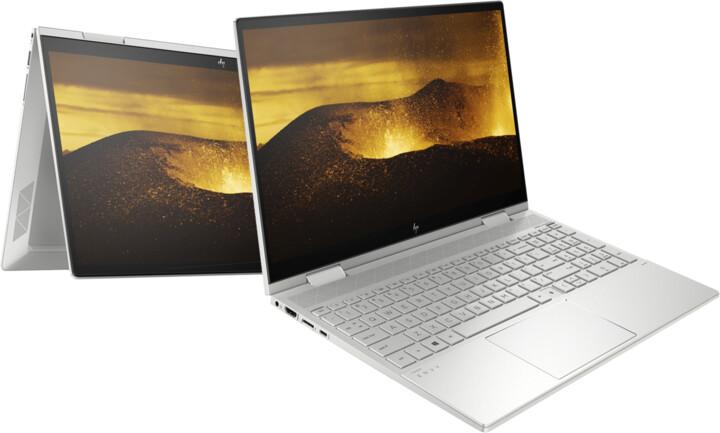 HP ENVY x360 15-ed0001nc, stříbrná + ON Site záruka