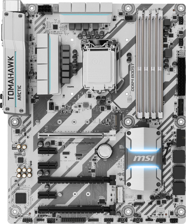 MSI Z270 TOMAHAWK ARCTIC - Intel Z270