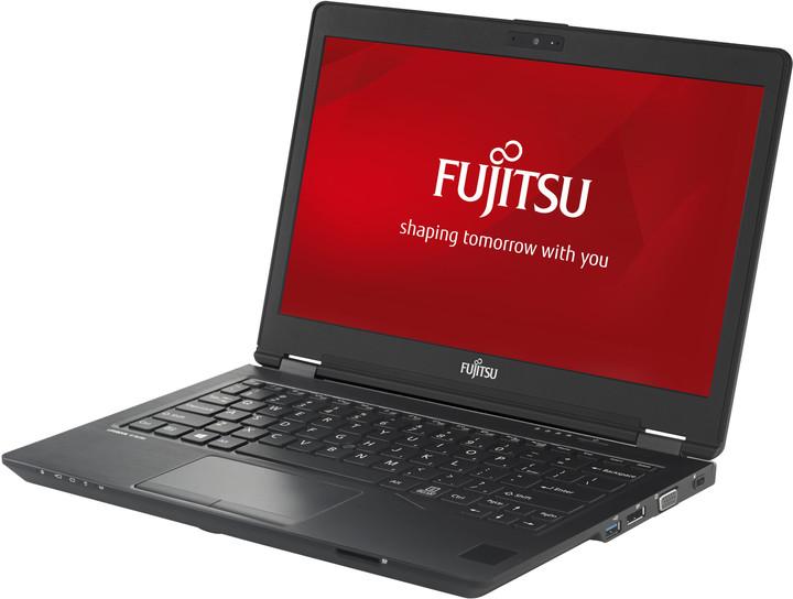 Fujitsu Lifebook U728, černá