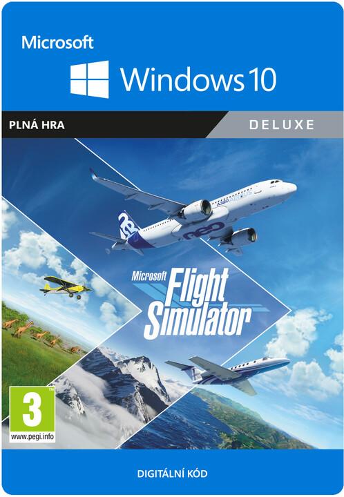 Microsoft Flight Simulator: Deluxe Edition (PC) - elektronicky