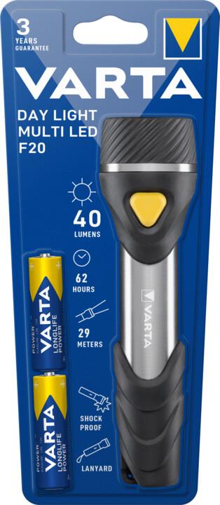 VARTA svítilna Day Light Multi LED F20