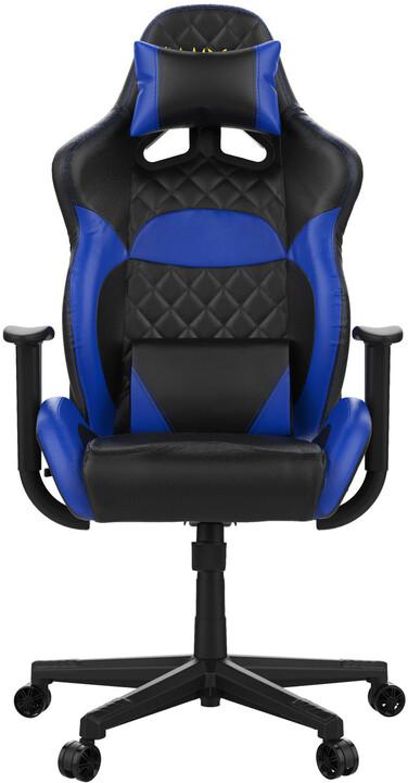 GAMDIAS Zelus E1, černá/modrá