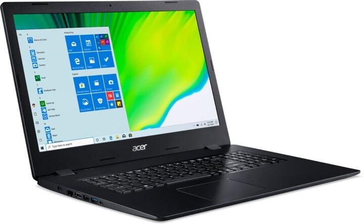 Acer Aspire 3 (A317-52-59F9), černá