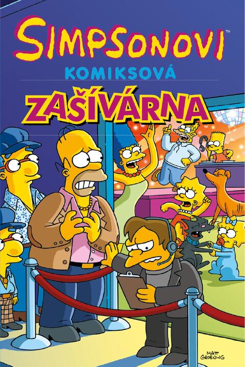 Komiks Simpsonovi: Komiksová zašívárna