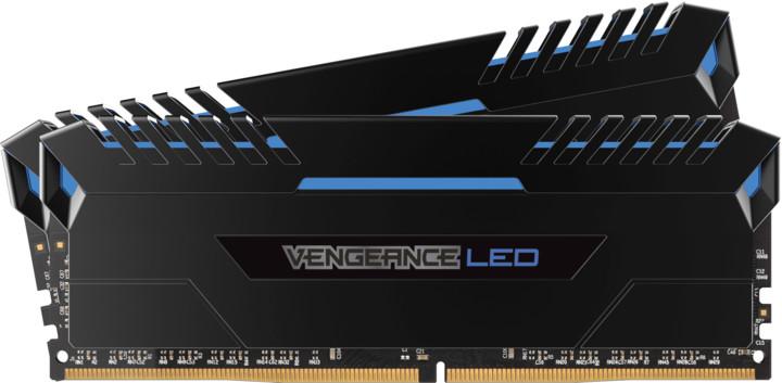 Corsair Vengeance LED Blue (32GB) 2x16GB DDR4 3000