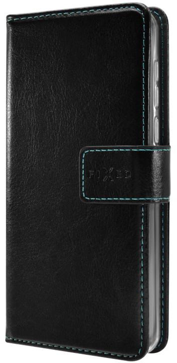 FIXED Opus pouzdro typu kniha pro Huawei Y5 (2017), černé