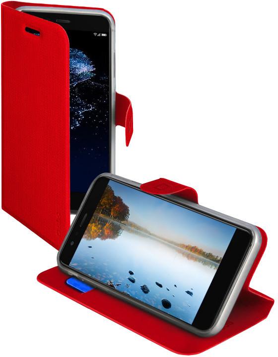 SBS Book Sense pouzdro pro Huawei P10 Lite, červená