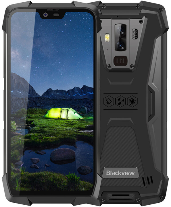iGET Blackview GBV9700 Pro Black, 6GB/128GB, Black