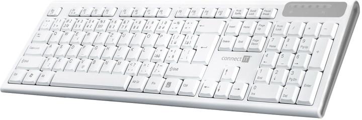 CONNECT IT CKB-3010, bílá, CZ/SK