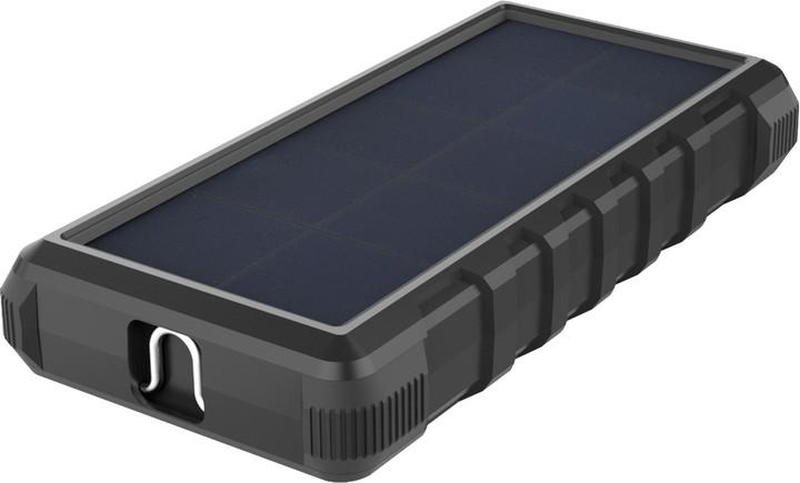 Sandberg solární outdoorová powerbanka 24000mAh, černá