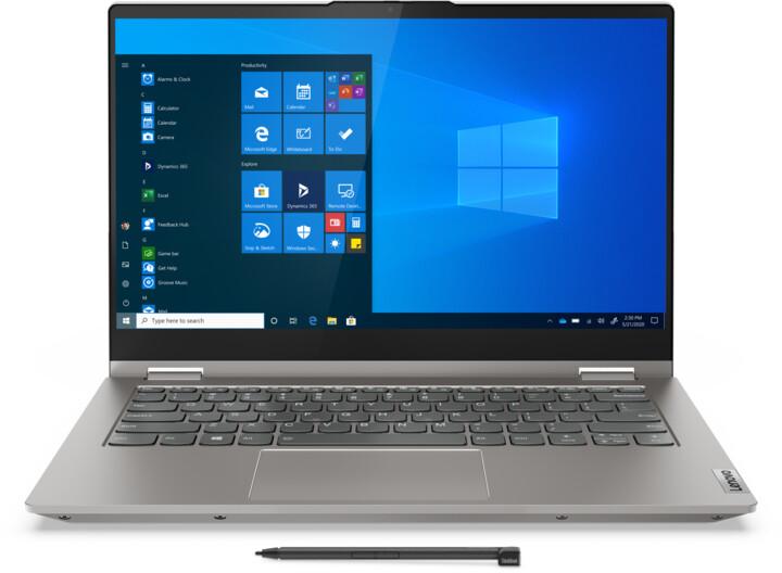 Lenovo ThinkBook 14s Yoga ITL, šedá