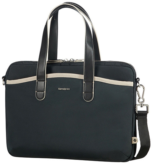 "Samsonite Nefti BAILHANDLE 13.3"" Black/Sand"