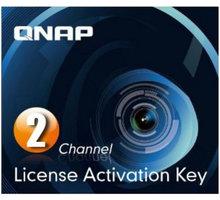QNAP licenční balíček pro kamery - 2 kamery - LIC-SW-SURVEILLANCE-2CH-EI