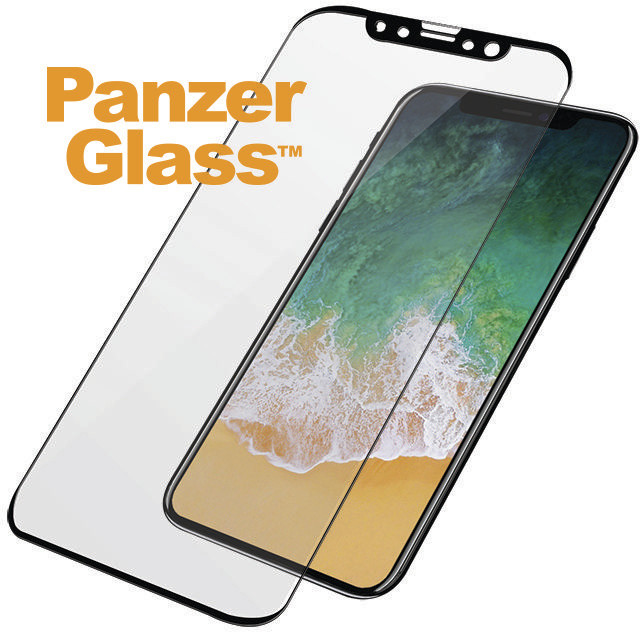 PanzerGlass iPhone X - černá (Casefriendly)