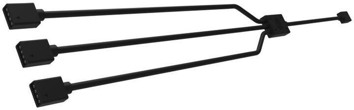 CoolerMaster RGB kabel k ovladači RGB LED ventilátor