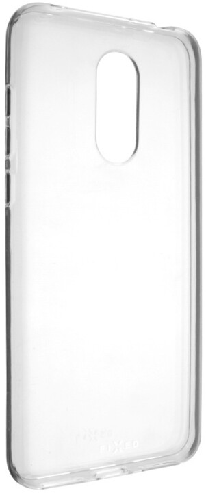 FIXED TPU gelové pouzdro pro Xiaomi Redmi 5 Plus Global, čiré