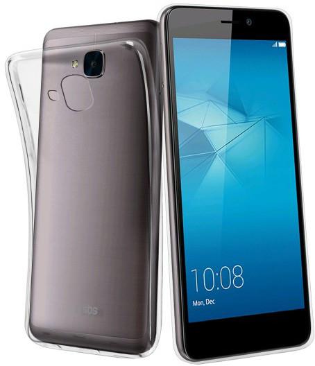 SBS Skinny pouzdro pro Huawei Honor 5C, Honor 7 Lite, transparentní