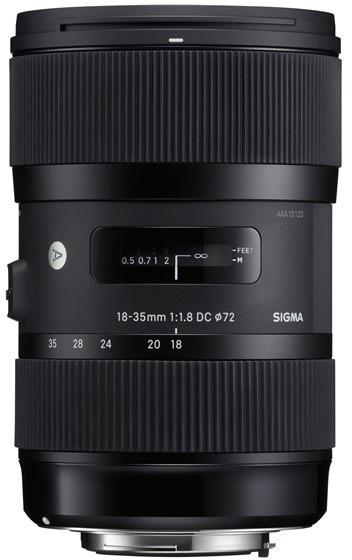 SIGMA 18-35/1.8 DC HSM ART pro Canon