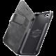 CellularLine prémiové kožené pouzdro typu kniha Supreme pro Apple iPhone 7/8, černé
