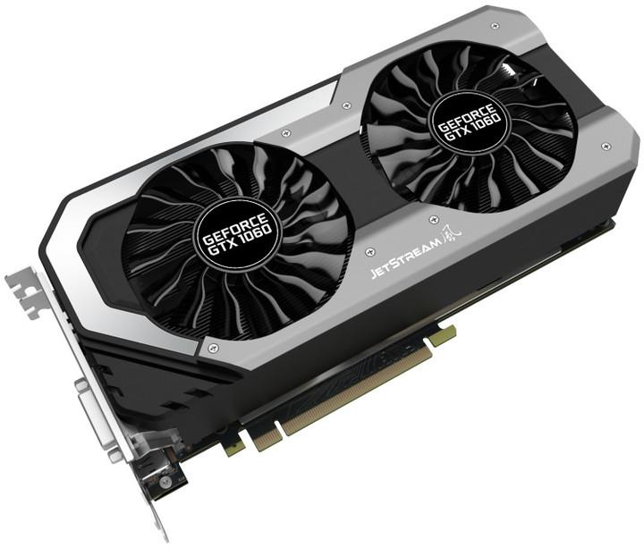 PALiT GeForce GTX 1060 Super JetStream, 6GB GDDR5