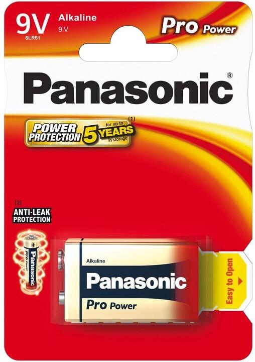 Panasonic baterie 6LR61 1BP 9V Pro Power alk