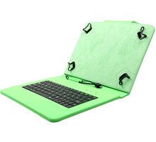 """C-TECH PROTECT pouzdro s klávesnicí pro 10,1"""", NUTKC-04, zelená - NUTKC-04G"""