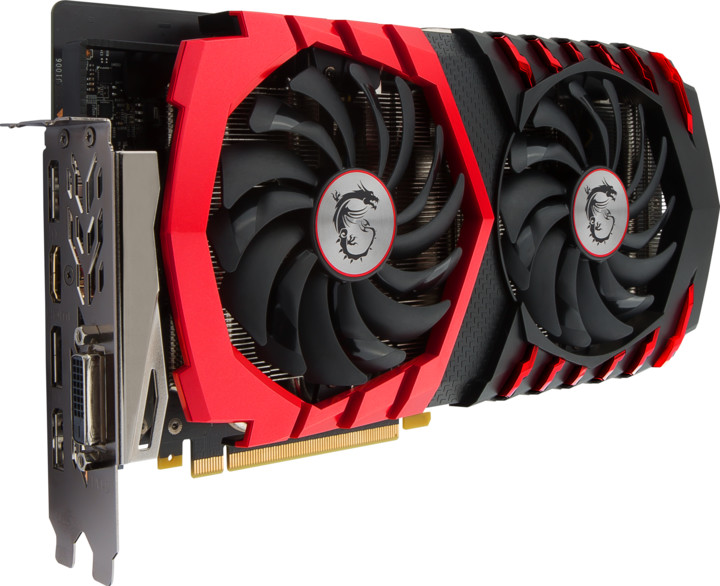 MSI GeForce GTX 1060 GAMING X 6G, 6GB GDDR5