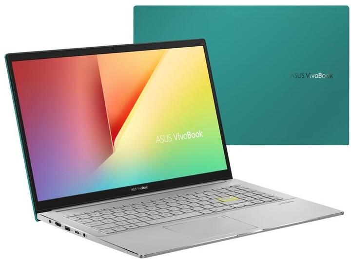 ASUS VivoBook S15 S533FA, zelená