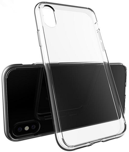 EPICO TWIGGY GLOSS ultratenký plastový kryt pro iPhone X - černý transparentní