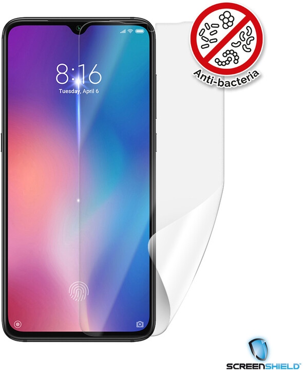 Screenshield ochranná fólie Anti-Bacteria pro Xiaomi Mi 9