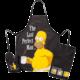Kuchyňska zástěra The Simpsons - Set Homer Last Perfect Man