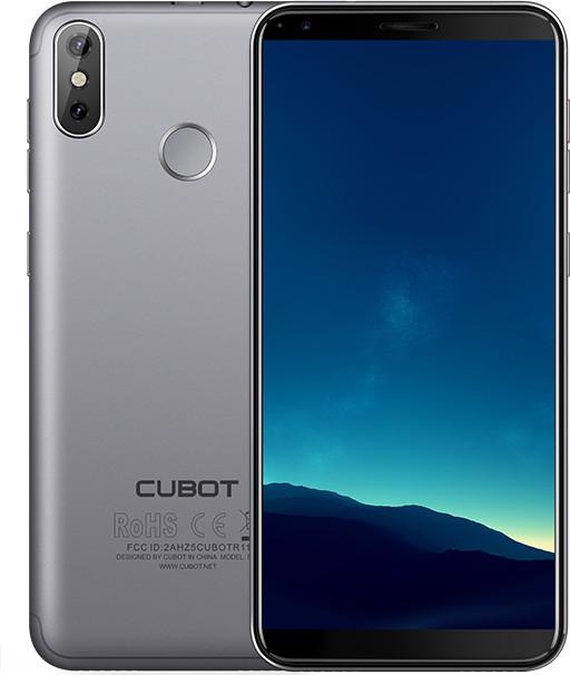 CUBOT R11, 2GB/16GB, šedá
