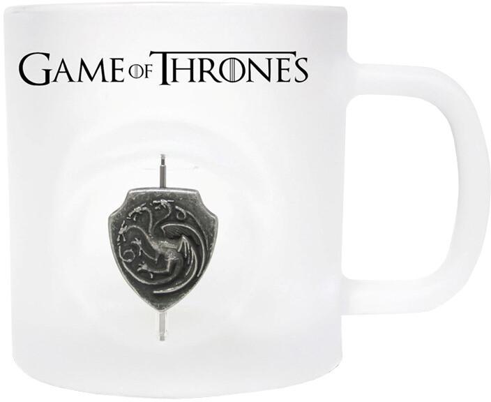 Game of Thrones - Otáčející 3D Logo Targaryenů