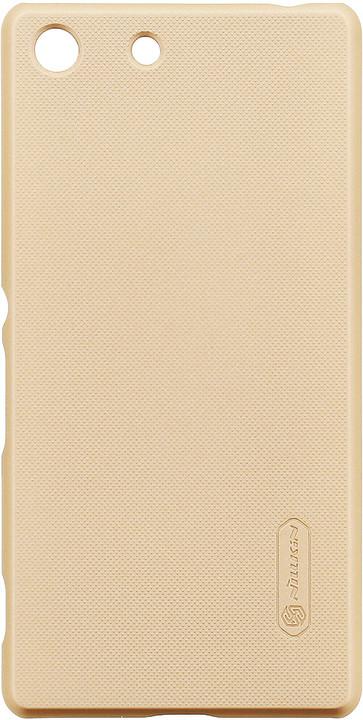 Nillkin Super Frosted Zadní Kryt Gold pro Sony E5603 Xperia M5