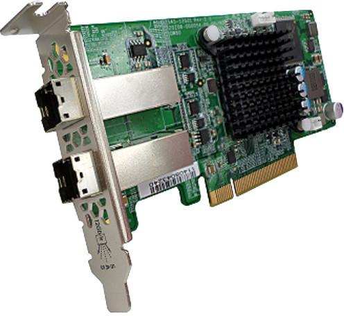 QNAP SAS-12G2E - rozšiřující úložná karta SAS 12Gb/s