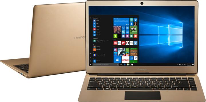 Prestigio SmartBook 133S, zlatá