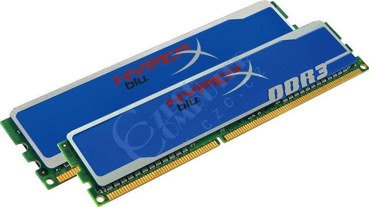 Kingston HyperX Blu 4GB (2x2GB) DDR3 1600 XMP