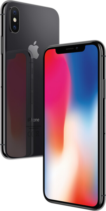 Apple iPhone X, 64GB, šedá
