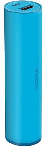Nokia DC-19 univerzální přenosný záložní zdroj, modrá