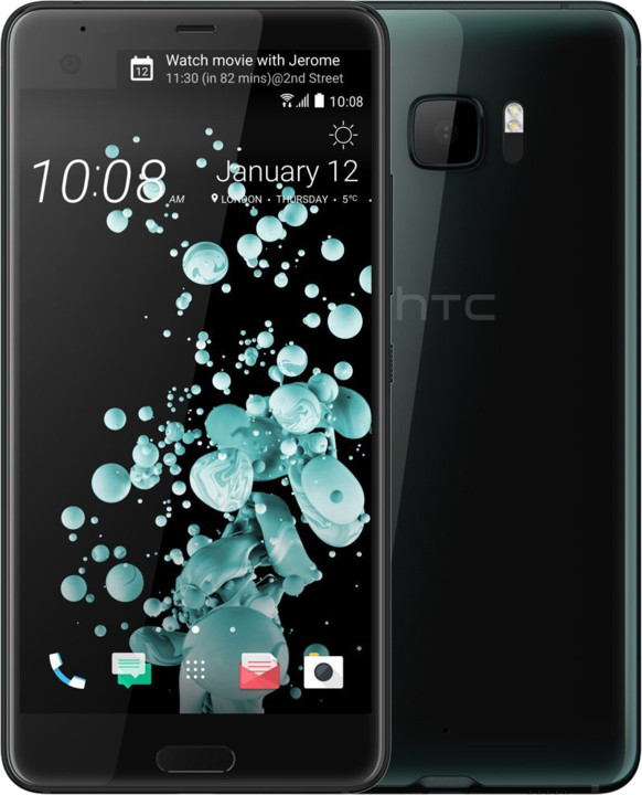 HTC U Ultra, 4GB/64GB, černá