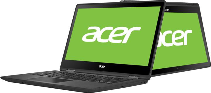 Acer Spin 5 (SP513-51-32BZ), černá
