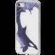 EPICO pružný plastový kryt pro iPhone 7 BLUE WHALE