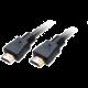 Akasa kabel HDMI - HDMI, M/M, pozlacené konektory, 8K@60Hz, 1m, černá