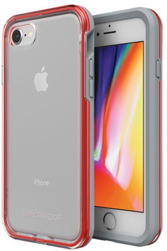 LifeProof SLAM ochranné pouzdro pro iPhone 7/8 průhledné - šedo červené