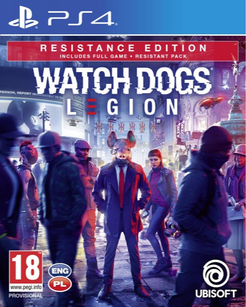 Watch Dogs: Legion - Resistance Edition (PS4)