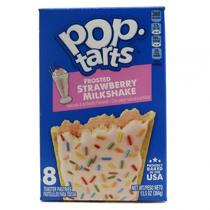 POP TARTS Frosted Strawberry Milkshake 384 g