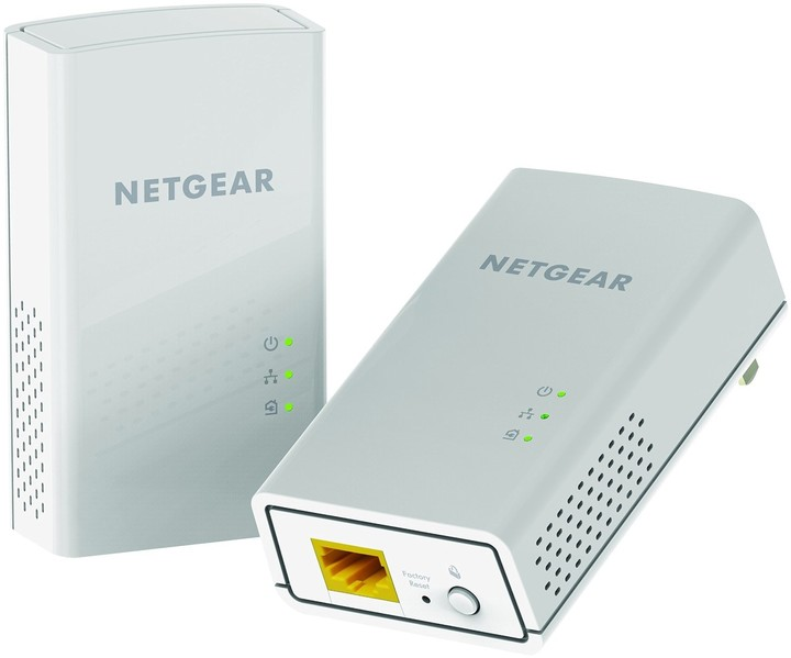 NETGEAR Powerline 1200Mbps 1PT GbE Adapters Bundel (PL1200)