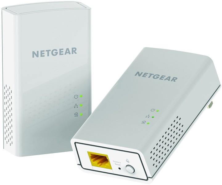 NETGEAR Powerline 1200Mbps 1PT GbE Adapters Bundel (PL1200)