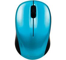 Verbatim Go Nano Wireless Mouse, karibsky modrá - 49043