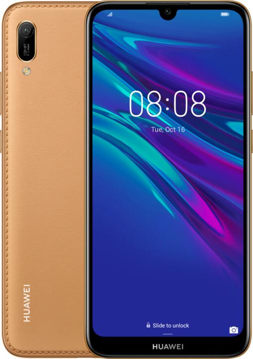 Huawei Y6 2019, 2GB/32GB, hnědá